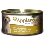 Applaws Dog Puppy, консерва - пилешко филе, за малки кученца