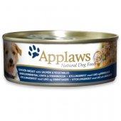 Applaws Dog Adult, консерва - Месни хапки - пилешко филе, сьомга и зеленчуци