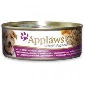 Applaws Dog Adult, консерва - Месни хапки - пилешко филе, шунка и зеленчуци
