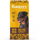 Banters Adult Large Chicken & Rice - храна за израснали кучета от големи породи с пиле и ориз
