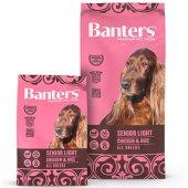 Banters Senior Light Chicken & Rice - за кучета над 7 години или склонни към затлъстяване
