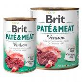 Brit Care Dog Pate & Meat, пастет с хапки - Еленско с пиле