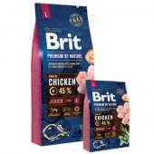 КУЧЕТА | Храна за кучета | Brit Premium Junior L