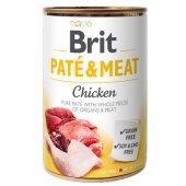 Brit Care Dog Pate & Meat, пастет с  хапки - Пиле