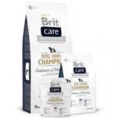 Brit Care Dog Show Champion - за кожа и козина със сьомга, херинга и ориз