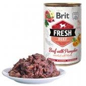 Brit Fresh Beef - консерва с говеждо и тиква