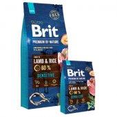 Brit Premium Lamb & Rice - с агне и ориз