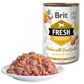 Brit Fresh Chicken - консерва с пиле и сладък картоф