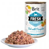 Brit Fresh Fish - консерва с риба и тиква