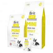 Brit Care Grain Free Dog MINI Adult - с агнешко