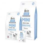 Brit Care Grain Free Dog MINI Sensitive - с еленско