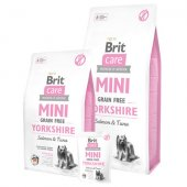 Brit Care Grain Free Dog MINI Yorkshire - със сьомга и риба тон