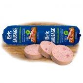 Brit Деликатесен салам за кучета, пиле и елен, 800 гр