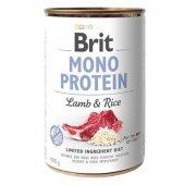 Brit Care Dog Mono Protein - Агне и ориз, консерва