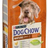 DOG CHOW MATURE Chicken - с пиле за възрастни кучета
