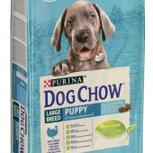 КУЧЕТА | Храна за кучета | DOG CHOW PUPPY LARGE BREED Turkey - с пуешко за малки кученца от едри породи