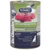 Dr. Clauder Selected Meat, консерва - патешко месо и сладки картофи
