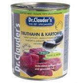 Dr. Clauder Selected Meat, консерва, пуешко и картофи - за кучета с проблемна кожа и козина
