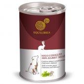 Консерва EQUILIBRIA за кучета със заешко месо, 410гр