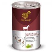 Консерва EQUILIBRIA за кучета с конско месо, 410кг