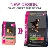 КУЧЕТА   Храна за кучета   Eukanuba Adult All Breed Salmon & Rice - със сьомга и ориз за чувствителни кучета