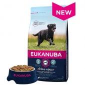 КУЧЕТА | Храна за кучета | Eukanuba Adult Large Breed, 15кг + 3кг ПОДАРЪК