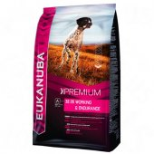 КУЧЕТА | Храна за кучета | НЯМА Eukanuba Working & Endurance Formula, 15 кг с 4 кг ПОДАРЪК