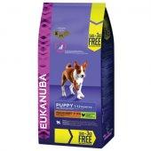КУЧЕТА | Храна за кучета | Eukanuba Medium Breed Puppy & Junior, 15 кг с 3 кг ПОДАРЪК