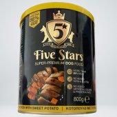 Five Stars Консерва с пиле и сладък картоф