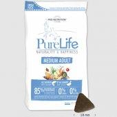 КУЧЕТА   Храна за кучета   Flatazor Dog PureLife Medium Adult - сьомга и бяла риба, без зърнени