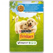 Friskies Dog VitaFit Junior - пауч 100 гр
