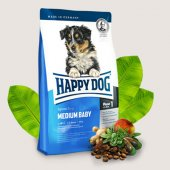 Happy Dog Medium Baby - храна за малки кученца на 1-5 мес. от средните породи