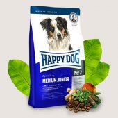 Happy Dog Medium Junior - храна за малки кученца на 6-12 мес. от средните породи