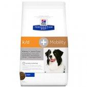 Hills Dog kd & Mobility - бъбречна недостатъчност и ставни проблеми