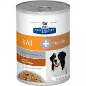 Hills PD Dog k/d and Mobility Stew, 354гр консерва за бъбречни проблеми и наднормено тегло