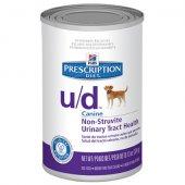 Hills PD wet Canine u/d - консерва при цистинови и пуринови уролити