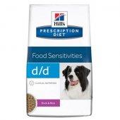 КУЧЕТА | Ветеринарни храни | Hills Canine dd Duck & Rice - хранителна алергия