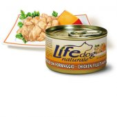 Life Natural Lifedog Chicken Fillets with Cheese, 90гр - с пилешки филенца и сирене