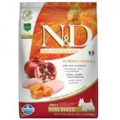 N&D Adult Mini Pumpkin - с пиле и нар