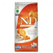 N&D Pumpkin Adult Medium & Maxi - с риба треска и портокал - 12 кг