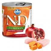 N&D Dog с пиле, тиква и нар, консерва 285гр