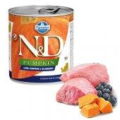 N&D Dog PUPPY с агне, тиква и боровинки, консерва за малки 285гр