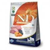 N&D Pumpkin Adult Medium & Maxi - с агне и боровинки - 12 кг
