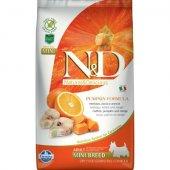 N&D Adult Mini Pumpkin - с риба треска и портокал
