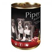 Piper Junior Консерва, 400 гр - с телешки сърца и моркови