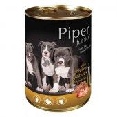 Piper Junior Консерва, 400 гр - с воденички и кафяв ориз