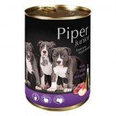 Piper Junior Консерва, 400 гр - с телешко и ябълки
