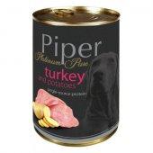 Piper Platinum Pure Adult, Консерва за кучета с пуйка и картофи 400 гр
