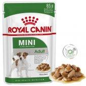 Royal Canin Mini Adult - 85 гр пауч, хапки в сос грейви