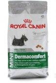 Royal Canin MINI Dermacomfort - Храна за чувствителна кожа и красива козина